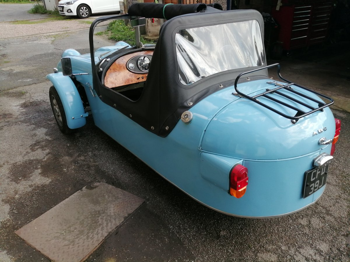 Classic ABC Three Wheel Convertible Kit Car For Sale (picture 4 of 6)
