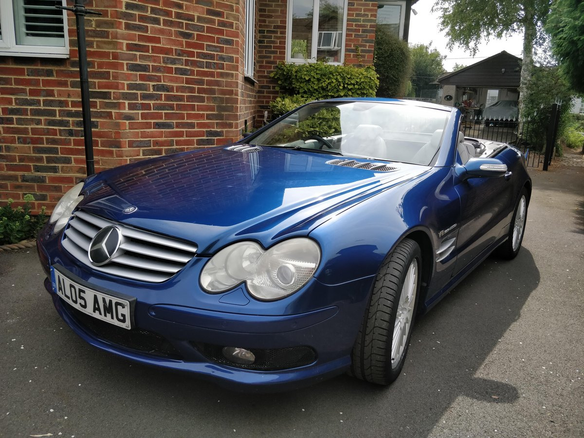 2005 Mercedes SL55 AMG V8 - 1 Owner Selling with Plate For Sale (picture 1 of 6)