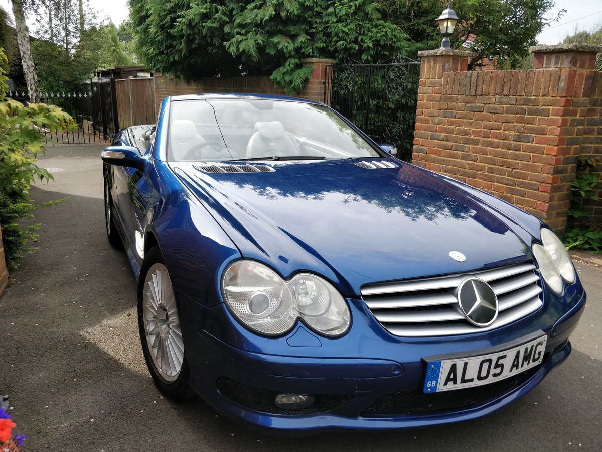 2005 Mercedes SL55 AMG V8 - 1 Owner Selling with Plate For Sale (picture 2 of 6)