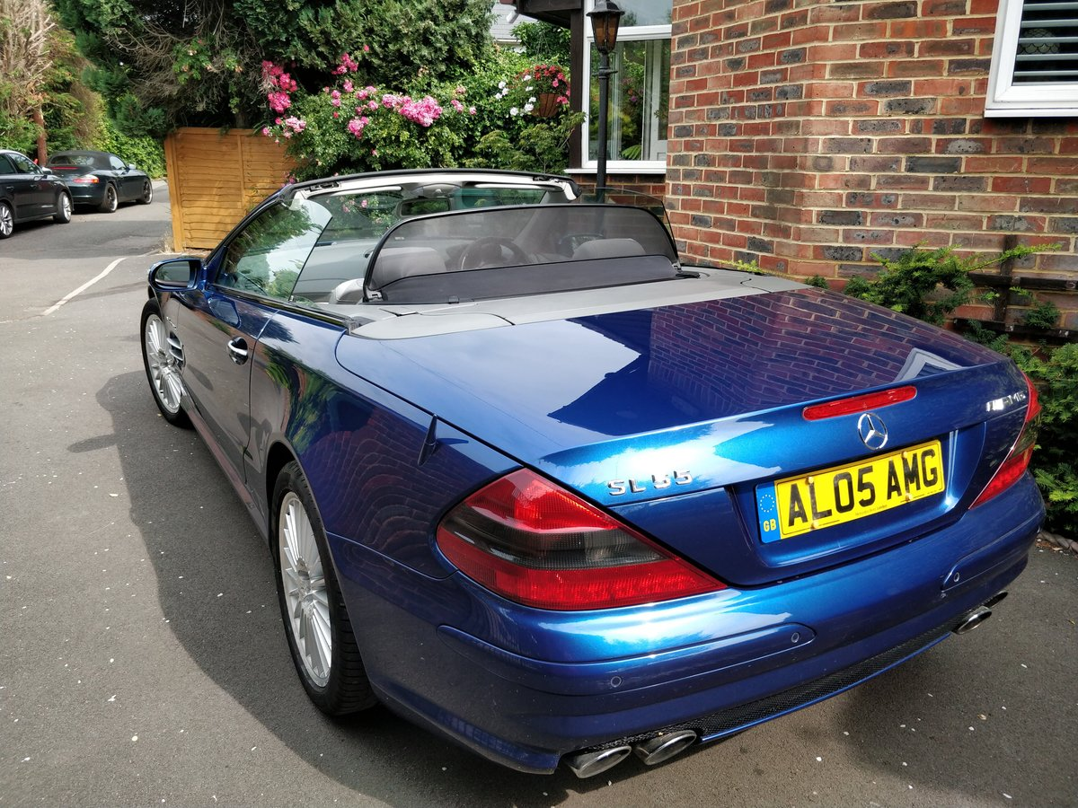 2005 Mercedes SL55 AMG V8 - 1 Owner Selling with Plate For Sale (picture 3 of 6)