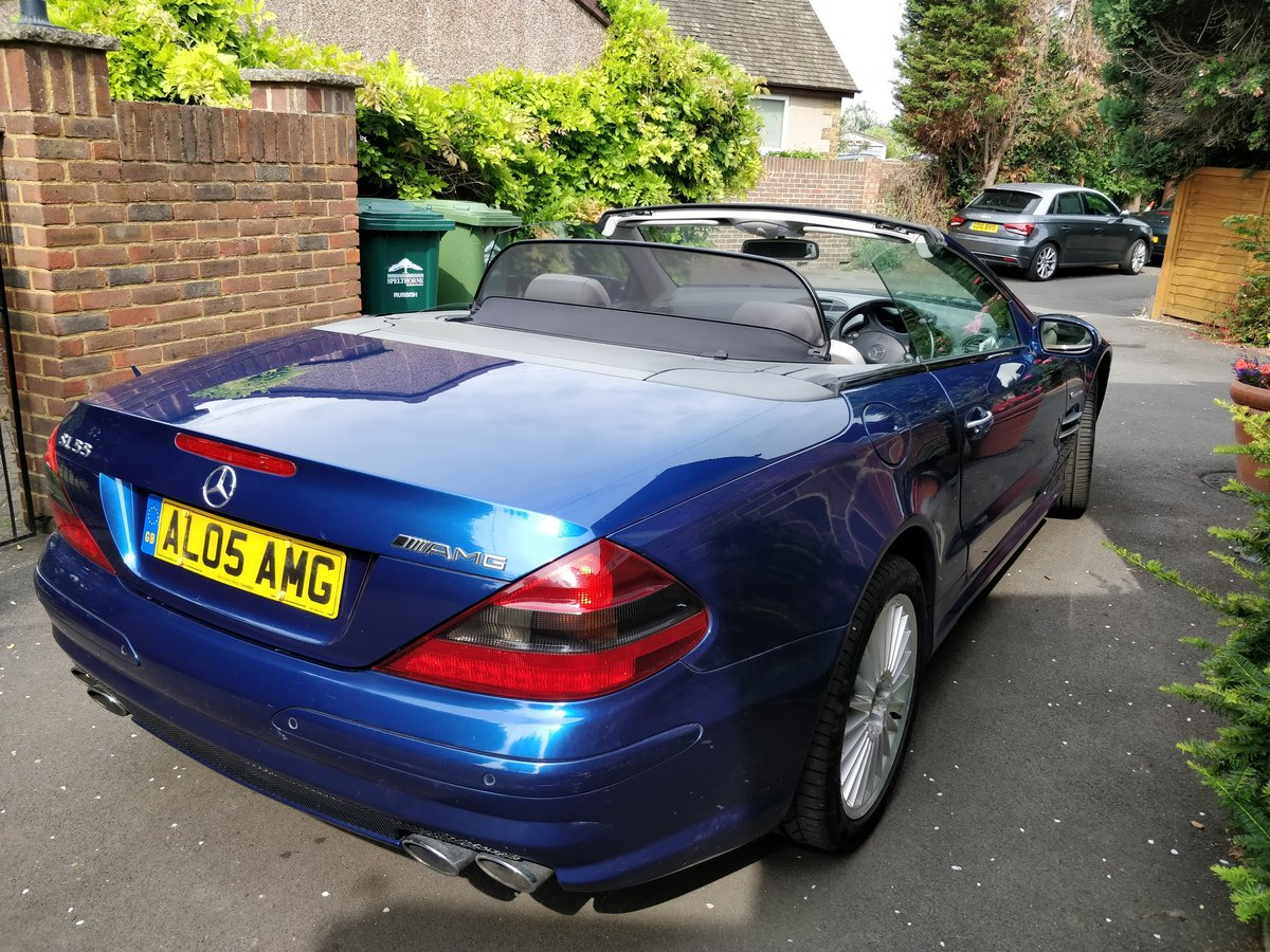 2005 Mercedes SL55 AMG V8 - 1 Owner Selling with Plate For Sale (picture 4 of 6)