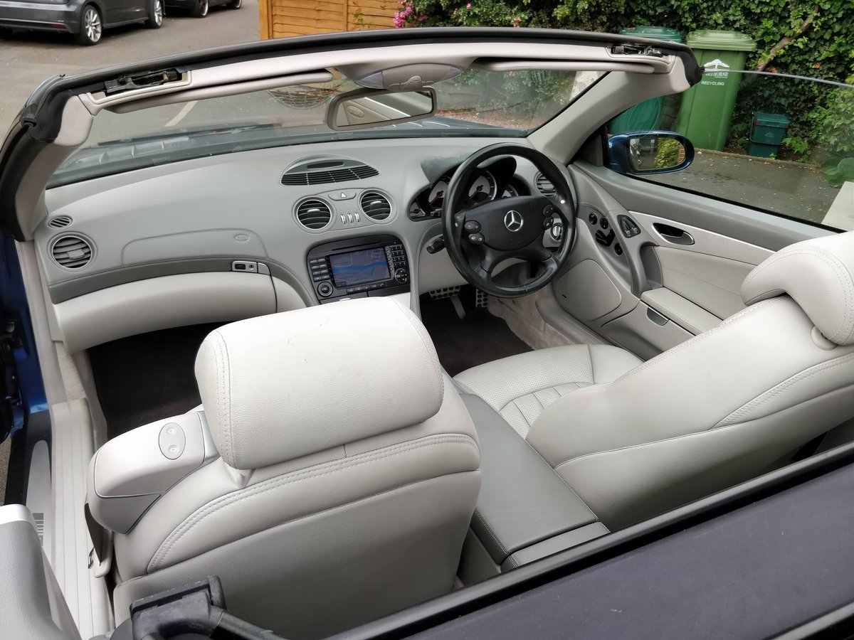 2005 Mercedes SL55 AMG V8 - 1 Owner Selling with Plate For Sale (picture 6 of 6)
