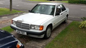 1991 W201 Mercedes 190 2.5d Auto