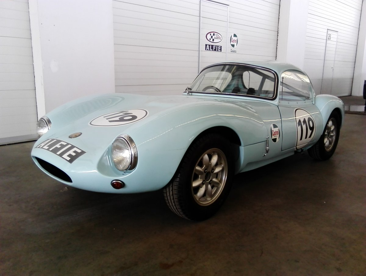 1964 Ginetta G4 round tube race car SOLD (picture 1 of 6)