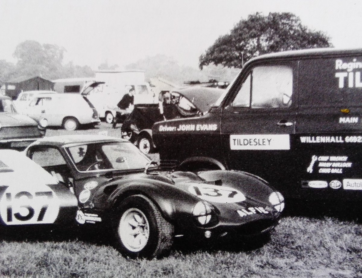1964 Ginetta G4 round tube race car SOLD (picture 5 of 6)