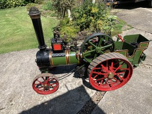 """1987 4.1/2"""" scale Burrell Traction Engine live steam. For Sale"""