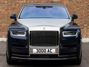 Cherished Number Plate: 3000 AC For Sale