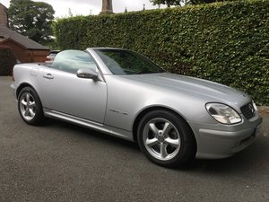 Mercedes SLK warranted 22000 miles