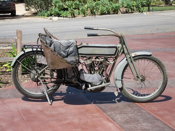 1973 FOR SALE: 1914 Harley-Davidson Model 10E For Sale (picture 2 of 3)