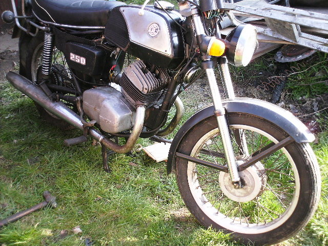 Cz jawa 471 250cc Twin cylinder  1980 For Sale (picture 1 of 2)