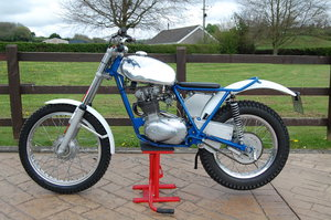 1959 Triumph Trials Tiger Cub Twin Shock with V5 For Sale