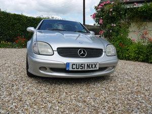 2001 Mercedes SLK 200 Kompressor For Sale