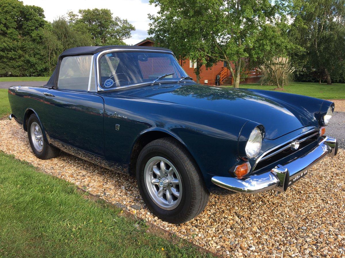1966 Sunbeam Alpine Mk5 Sport Sold Car And Classic