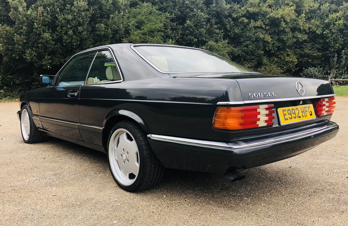 1988 Mercedes 560 Sec For Sale (picture 4 of 6)
