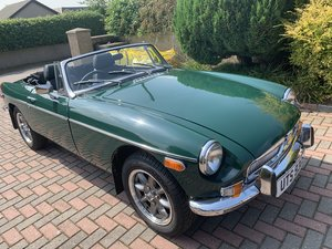 1978 MGB Roadster - USA export model converted RHD etc.