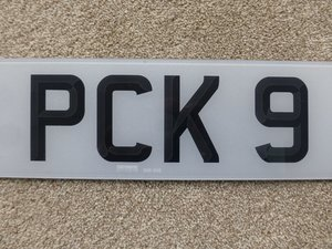 PCK 9 Registration For Sale