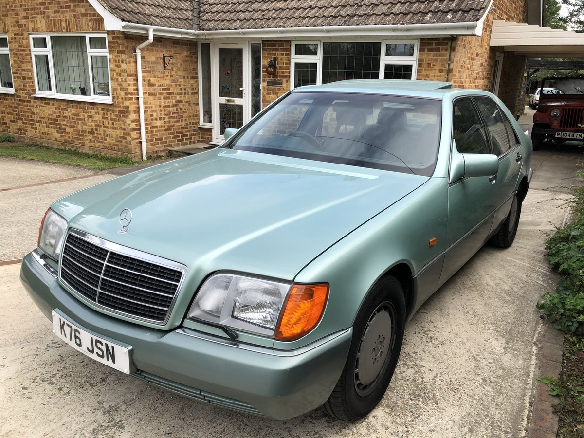 1992 Mercedes W140, 400se 56,000 miles For Sale (picture 1 of 4)