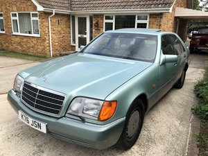 1992 Mercedes W140, 400se 56,000 miles For Sale