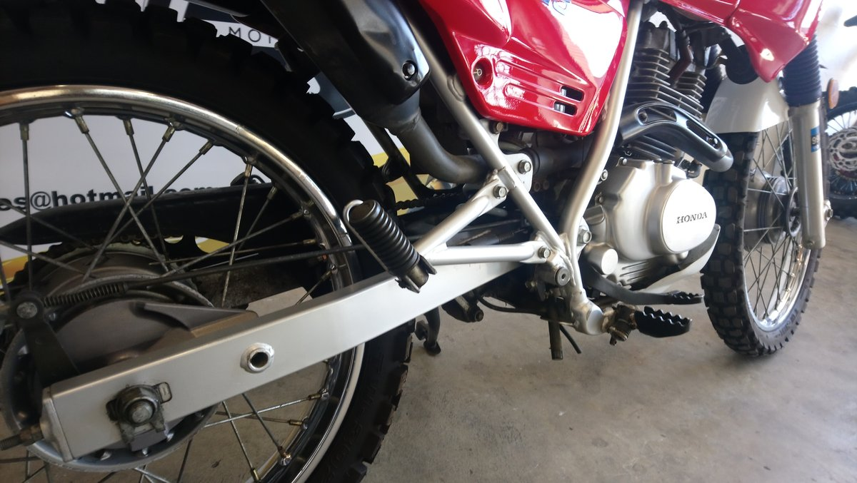1988 Honda NX125 125 For Sale (picture 5 of 6)
