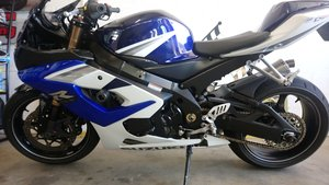 2005 Suzuki gsxr1000 gsxr k5  *straight bar conversion* For Sale