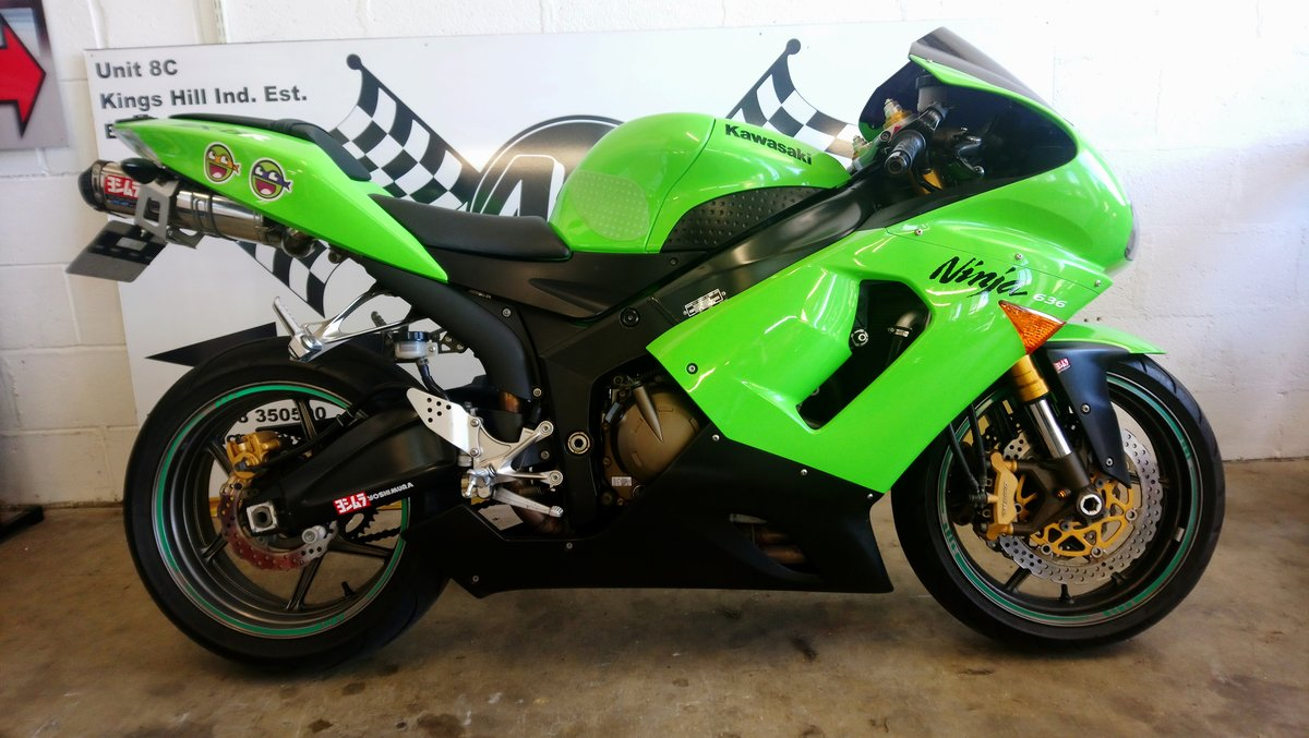 2005 Kawasaki ZX6R 636 For Sale (picture 1 of 6)