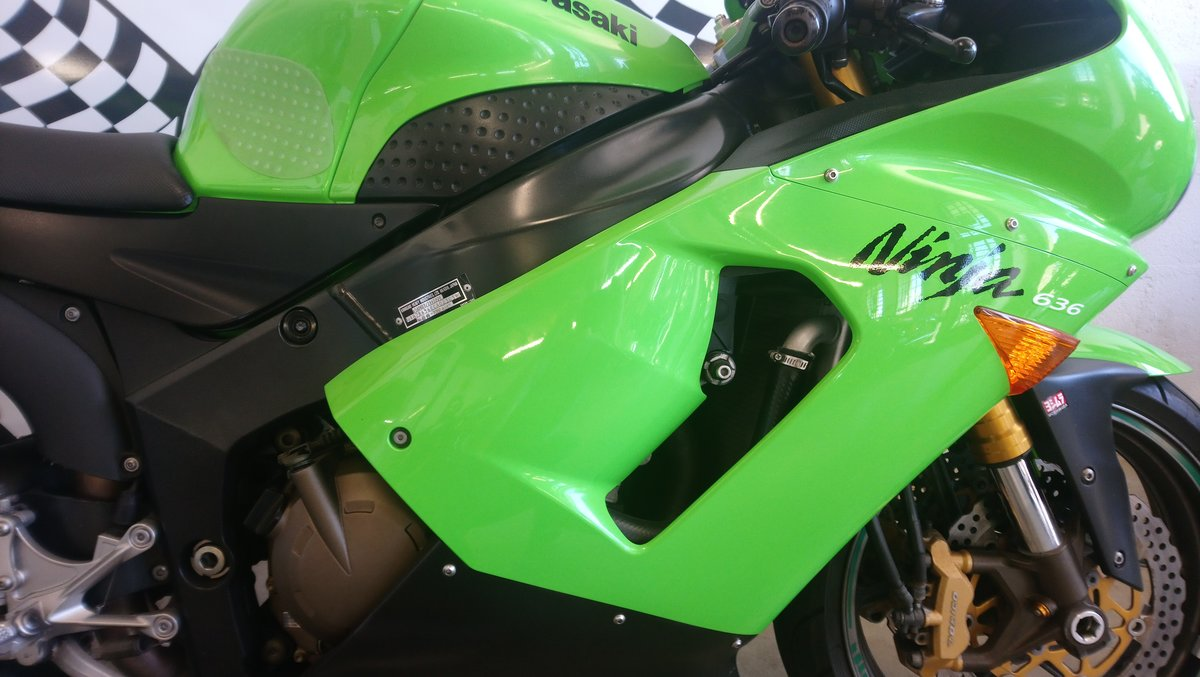 2005 Kawasaki ZX6R 636 For Sale (picture 6 of 6)