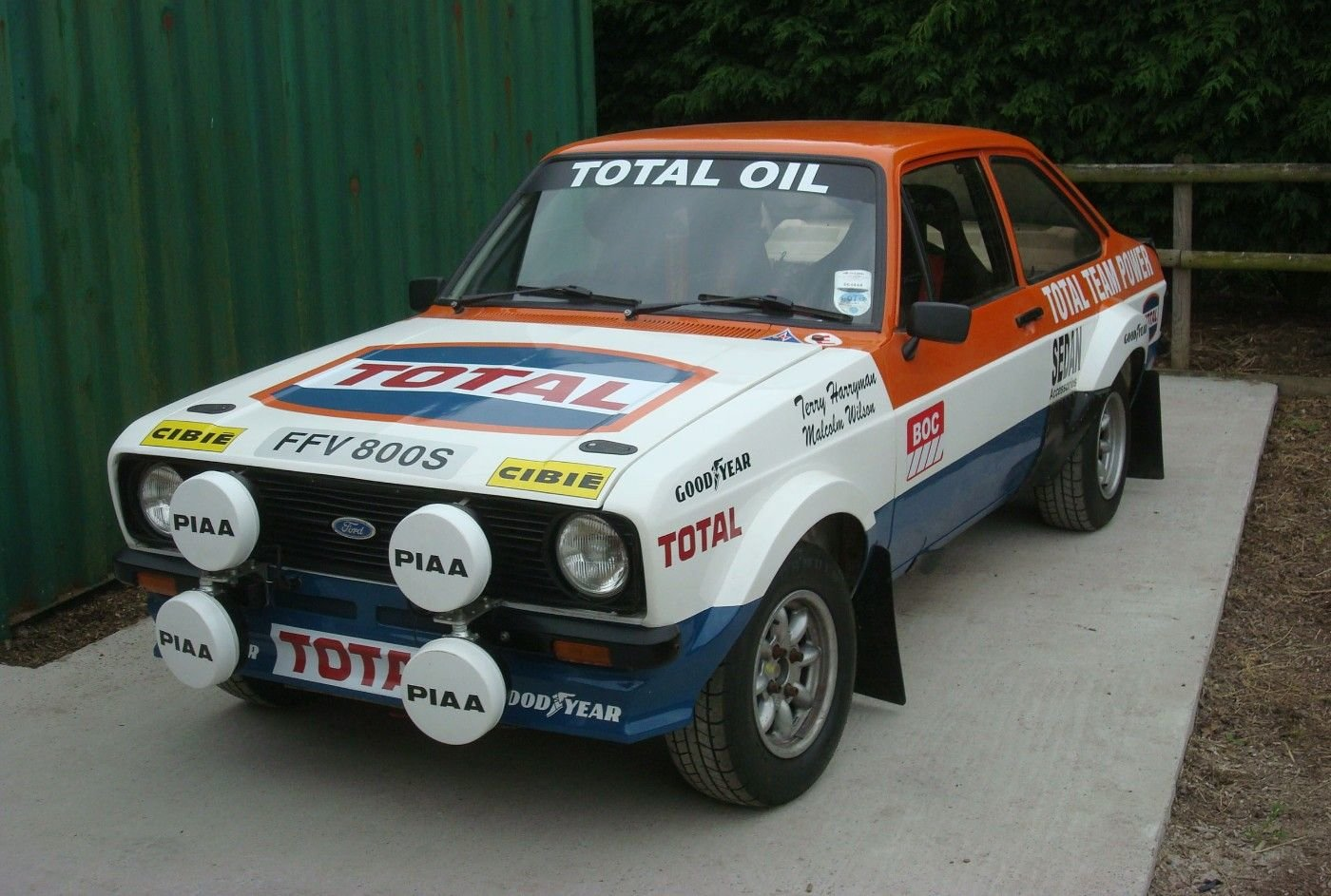 1978 EX MALCOLM WILSON CAR For Sale (picture 2 of 6)