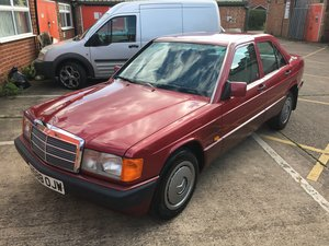 1991 Mercedes 190E 1.8 Auto H-reg  For Sale