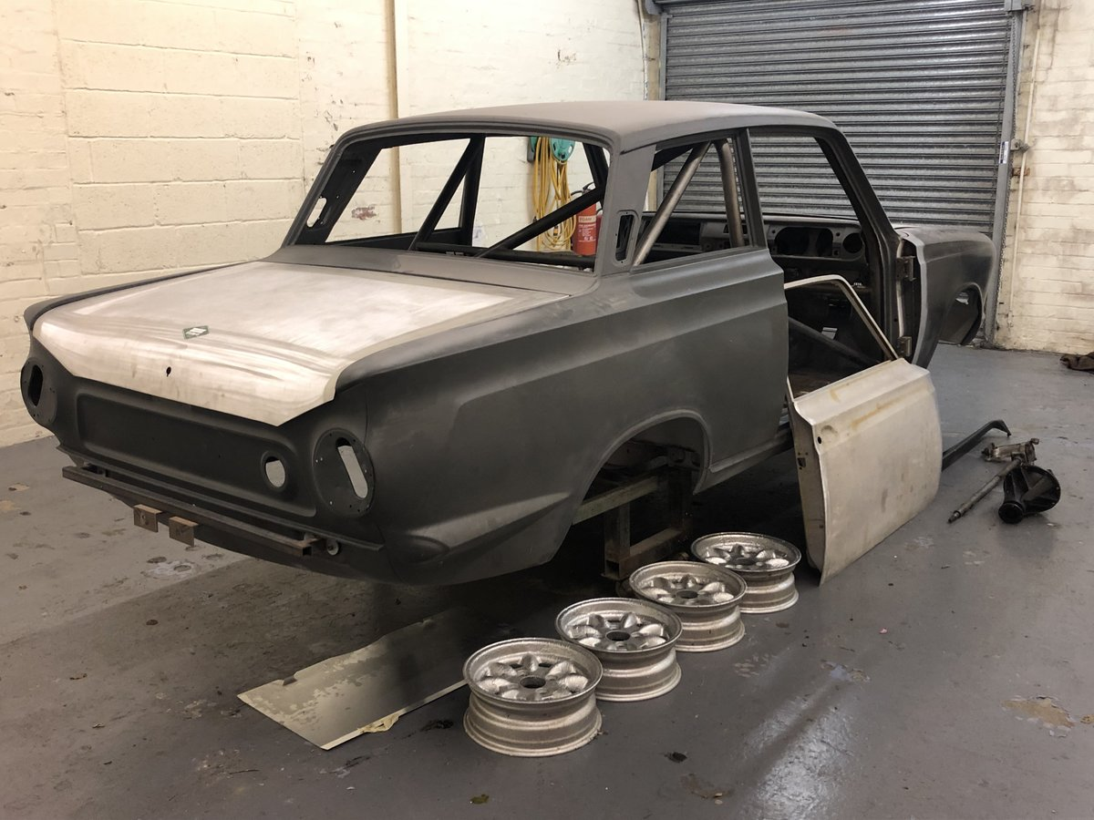 1966 Lotus Cortina Race car Shell  For Sale (picture 1 of 2)