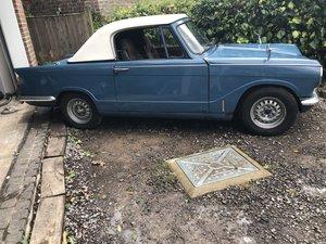 1968 Triumph herald convertible valencia blue
