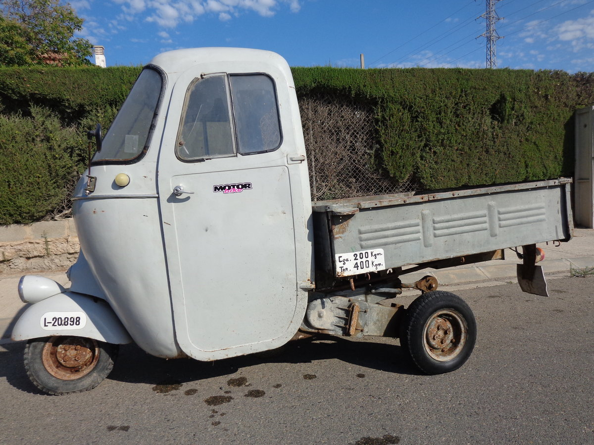 1962 Vespacar 125 For Sale (picture 1 of 6)