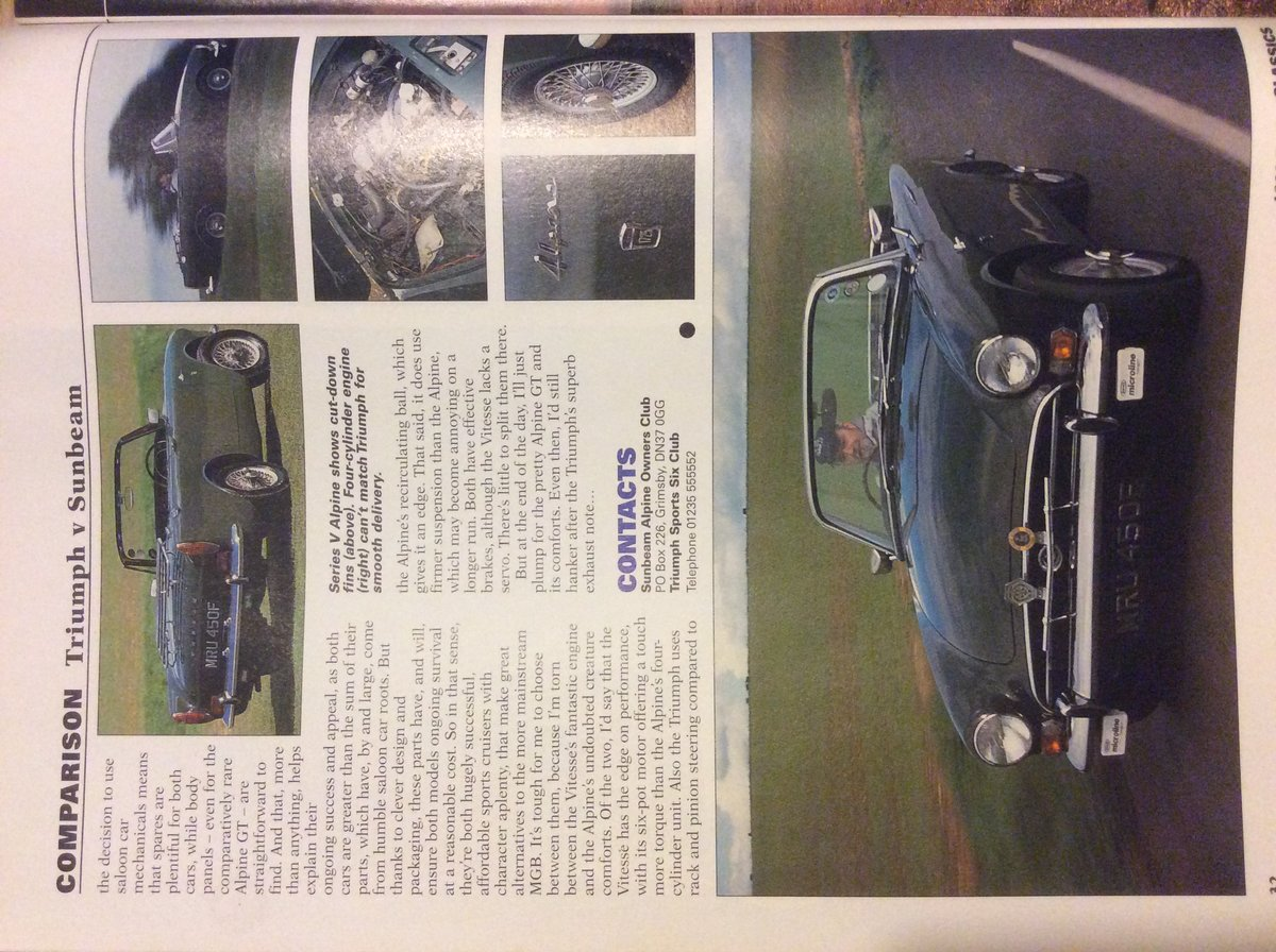 1968 Sunbeam Alpine GT Package For Sale (picture 2 of 6)