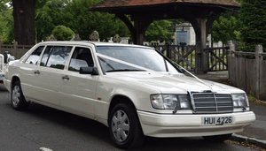 1989 REDUCED!!  Mercedes 8 Seater Wedding Limousine For Sale