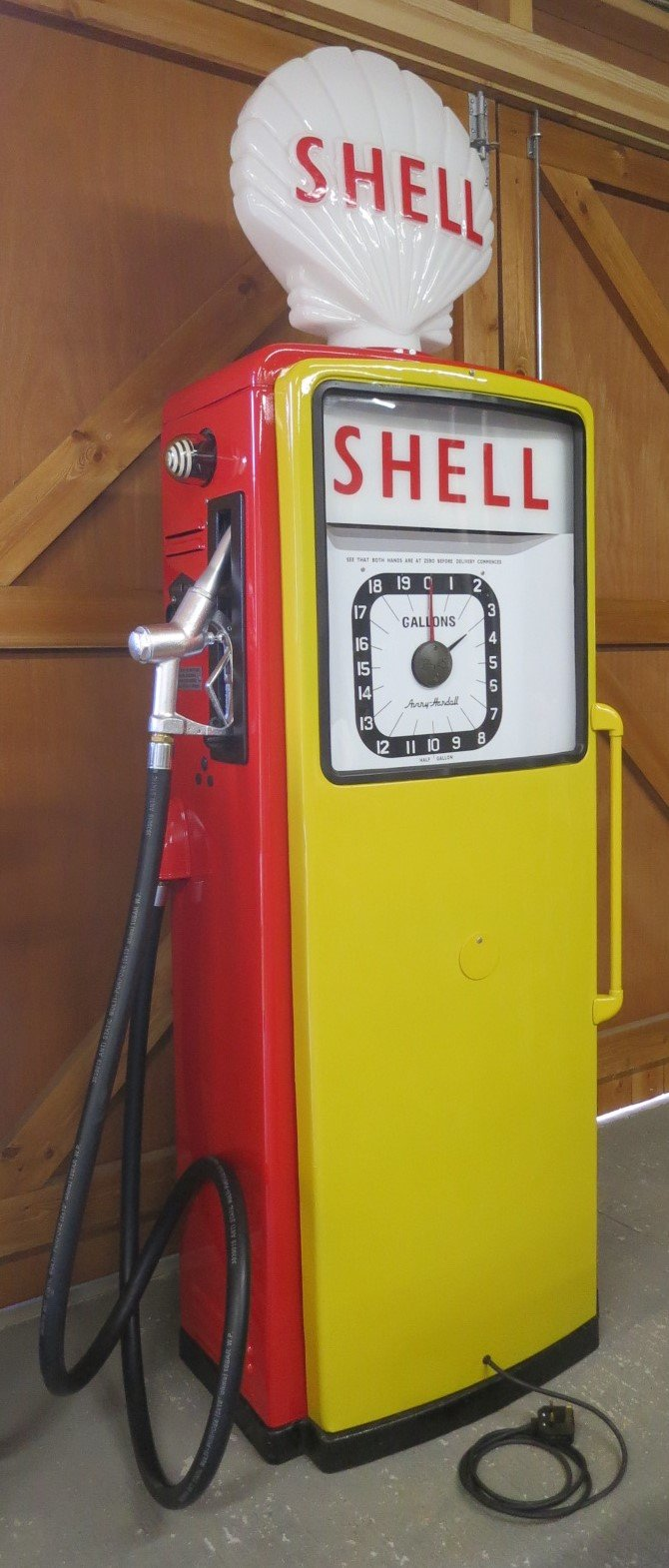 1960 Avery Hardoll restored petrol pump SOLD (picture 1 of 6)