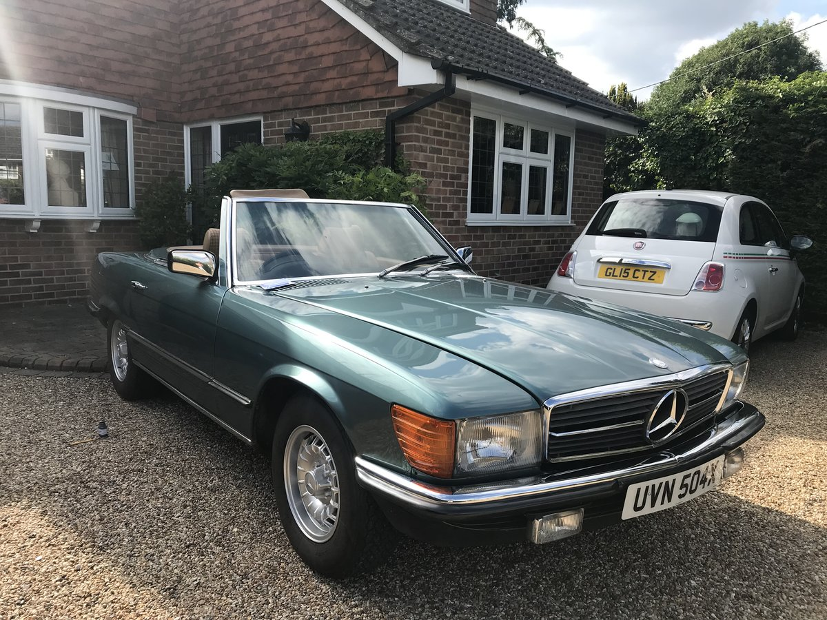 1982 Mercedes 280 SL For Sale (picture 6 of 6)