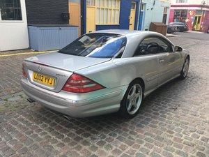 2002 Mercedes-Benz CL55 5.4 AMG