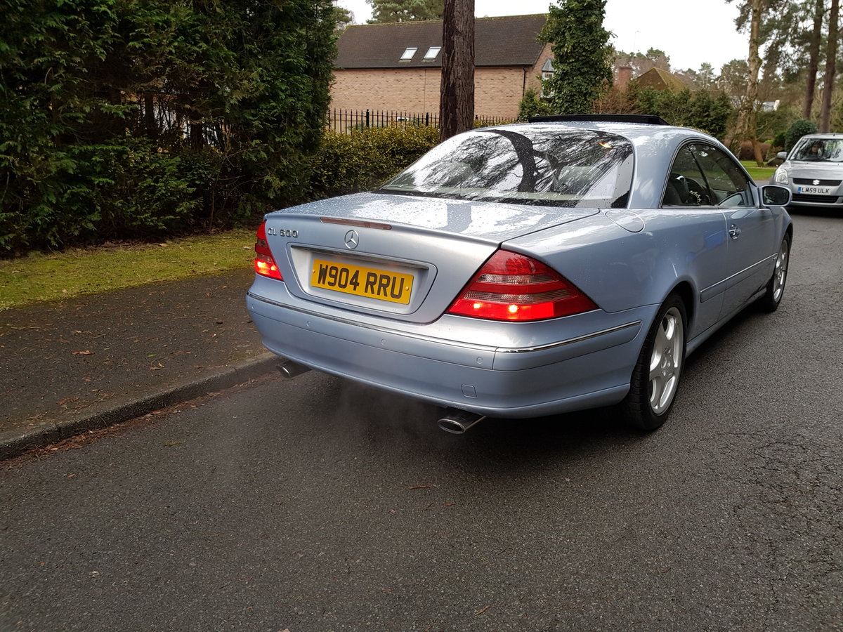 2000 Stunning CL600 For Sale (picture 3 of 6)