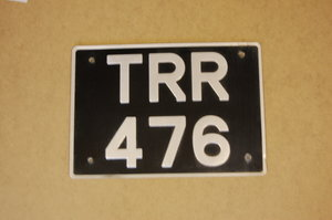 TRR 476 Non dated registration For Sale