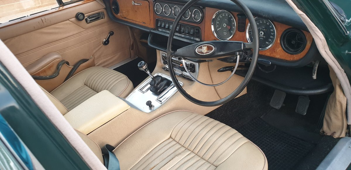 1970 Jaguar XJ6 Series 1 Manual OD For Sale (picture 3 of 6)