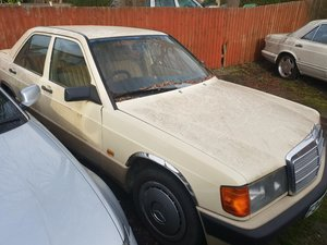1988 Mercedes benz 190 2.0 automatic For Sale