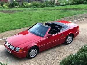 1992 Mercedes SL Fantastic condition with FSH For Sale