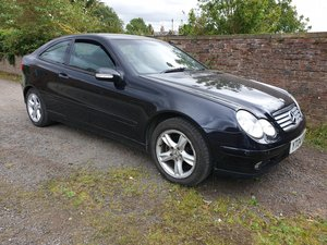 2004 Mercedes C180 Kompressor Coupe special Edition FSH For Sale