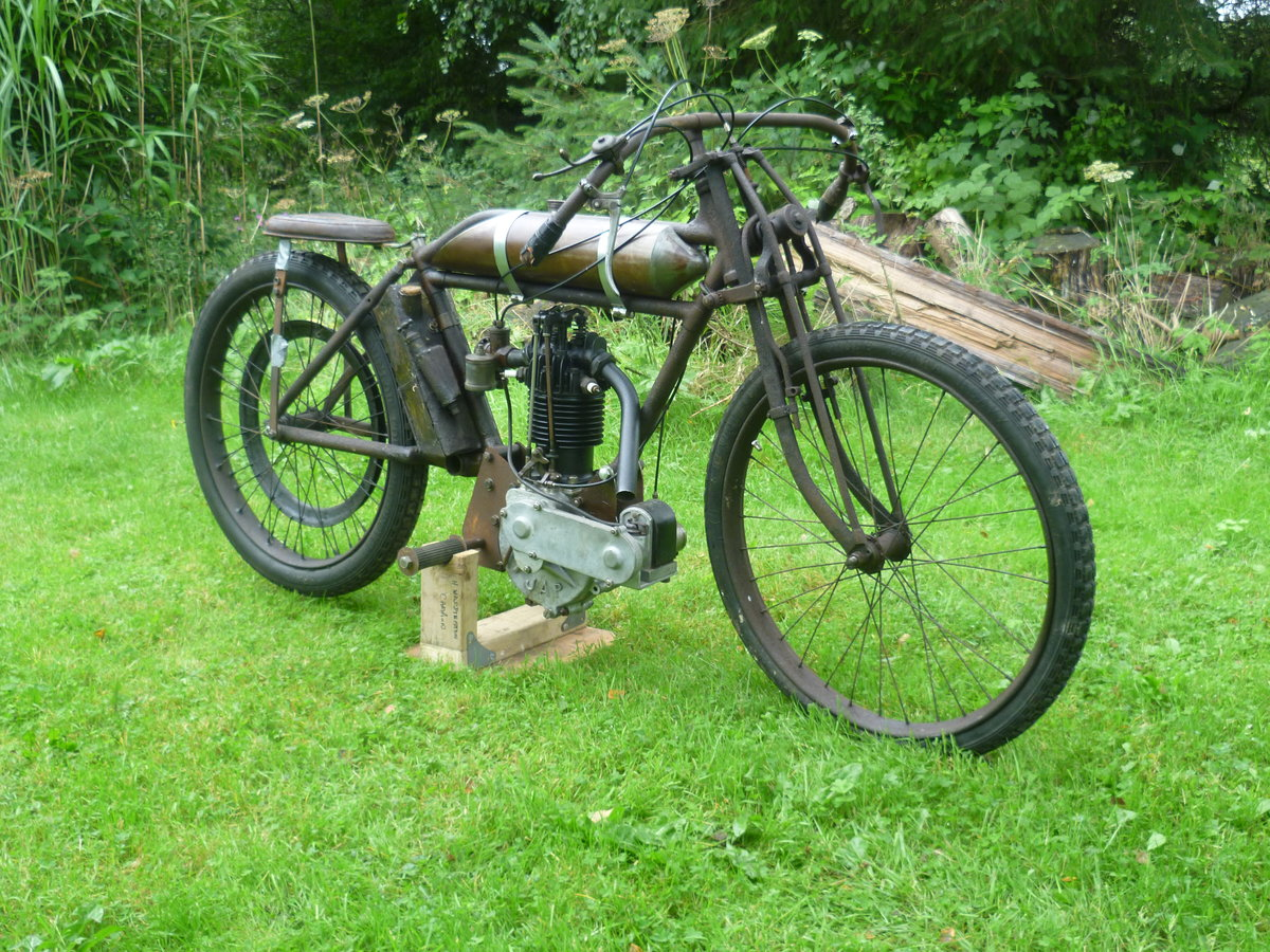 1914 Veteran Racer with OHV JAP Motor For Sale (picture 1 of 6)