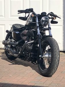 2014 Harley Davidson 48 Stunning highly modified