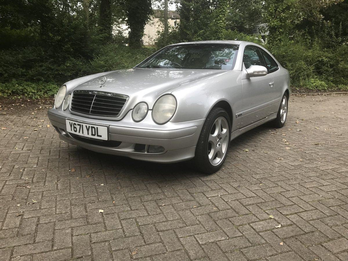 2001 Mercedes-Benz W208 CLK 230 Kompressor  For Sale (picture 1 of 6)