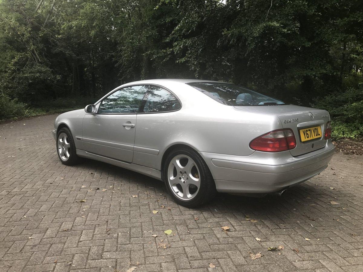 2001 Mercedes-Benz W208 CLK 230 Kompressor  For Sale (picture 2 of 6)