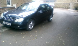 2002 C220 CDI COUPE For Sale