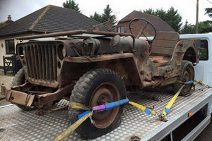 1961 willys or hotchkiss jeep spares