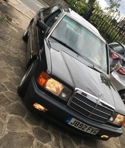 1992 Mercedes 190e carat by duchatelet  super rare ! !