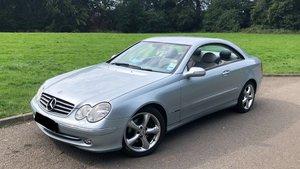 2005 Mercedes clk 240 avantgarde auto 2.6l genuine 51k For Sale